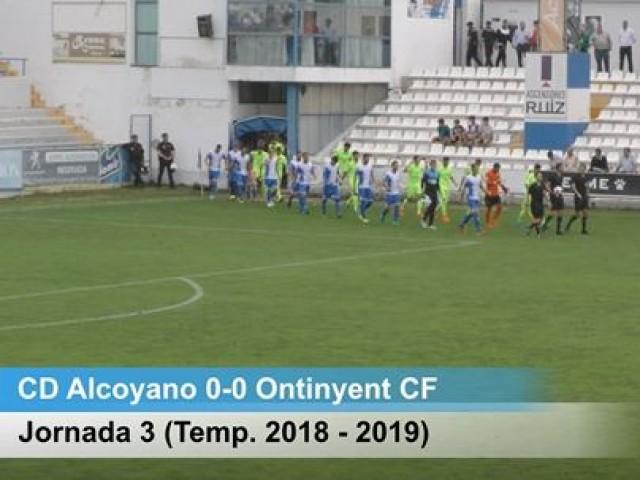 L'Alcoyanoperdona ocasions clares davant l'Ontinyent a ElCollao(0-0)