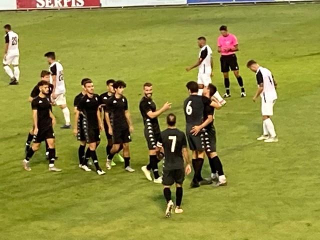 Celebració del segon gol / CD Alcoyano SAD