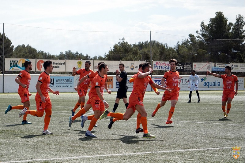 Alex Chico ha anotat un gol per a emmarcar. Foto: Paula Jarque