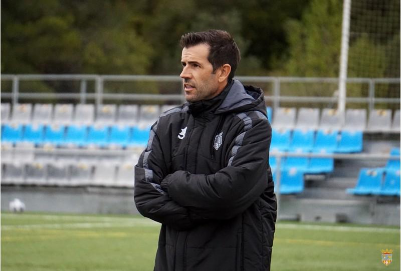 David Albelda, en un entrenament. Foto: Paula Jarque (web Atzeneta UE)