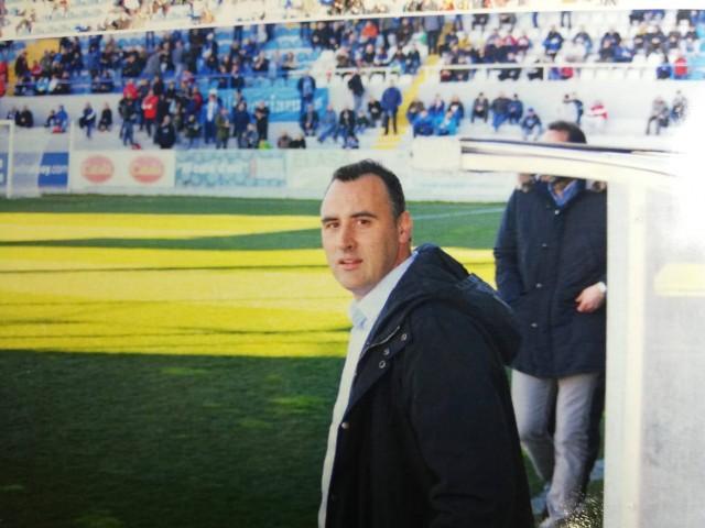 Carlos Sempere, a la seua etapa del Deportivo Alcoyano. Foto: Atzeneta UE