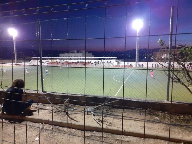 Dissabte passat, el Municipal de Benigànim, pràcticament buit per a un partit de Tercera.