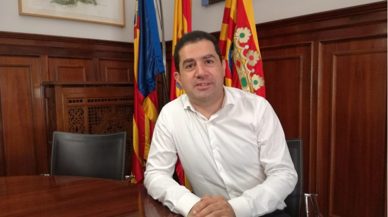 L'alcalde d'Alcoi, Toni Francés
