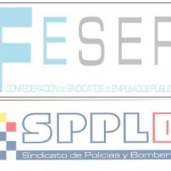 FESEP, Sindicat de Trebaladors Públics; i SPPB, Sindicat Professional de Policies i Bombers