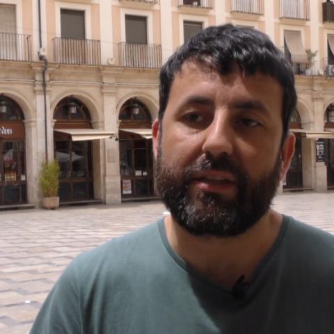 Pablo González, regidor de GUanyar Alcoi.