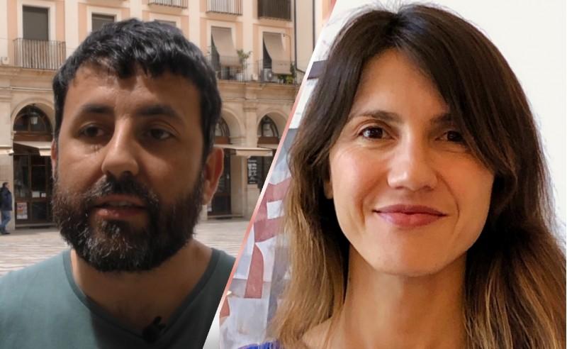 Sandra Obiol i Pablo González, regidors de Guanyar Alcoi