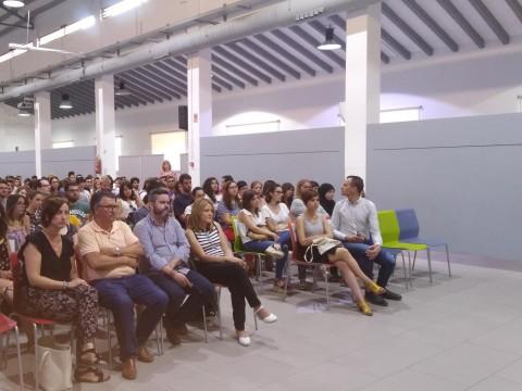 """Acte de presentació """"Avalem Joves""""/Belén Rivas"""