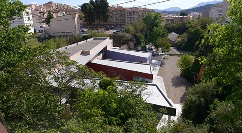 El Centre, construït a l'antic camp de futbol del Barranquet de Soler