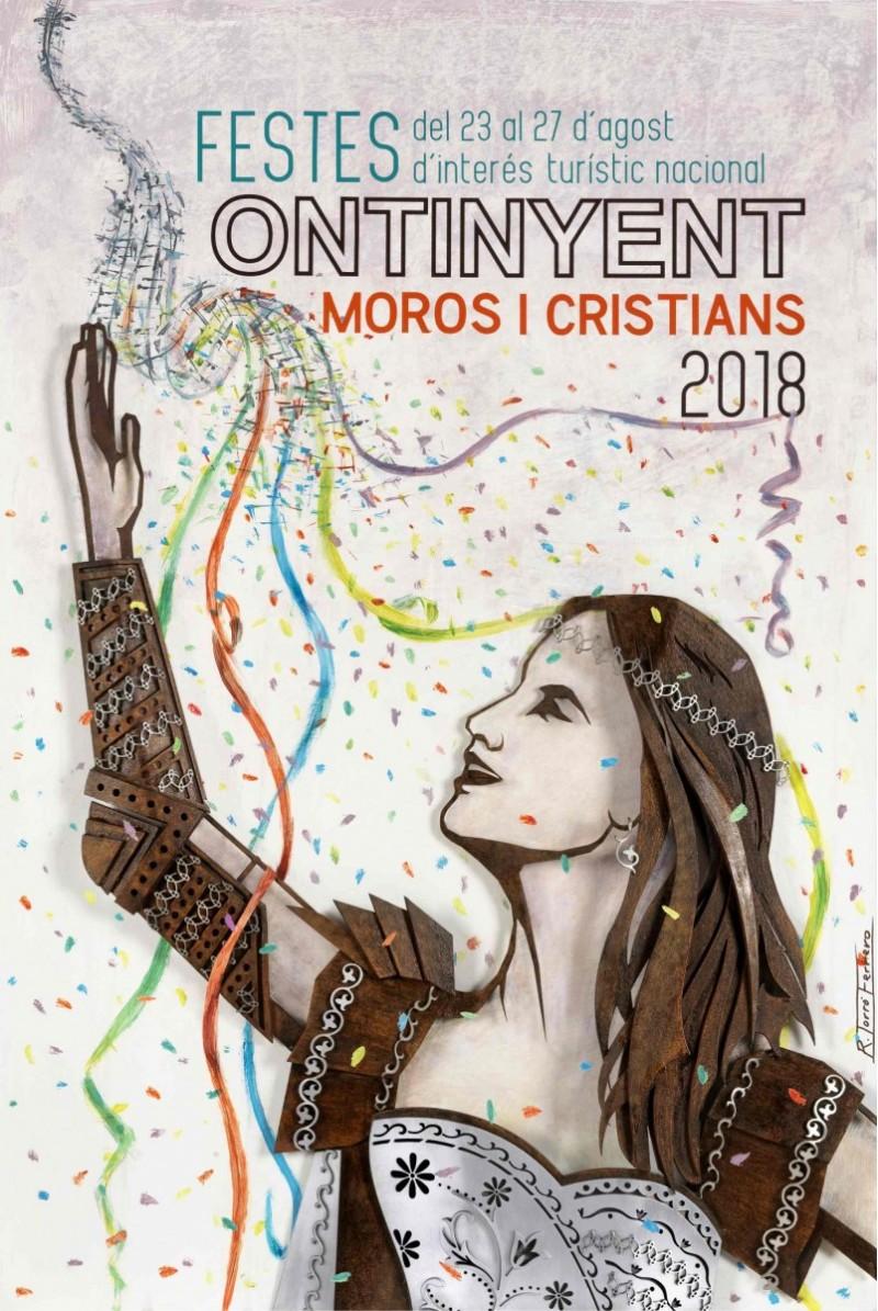 Cartell de Festes Moros i Cristians 2018/Rafa Torró Ferrero