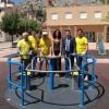 El parc de l'avinguda País Valencià de Cocentaina té un nou joc adaptat
