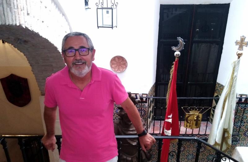 L'abanderat moro, Rafael Agulló en la Casa del Fester/AM