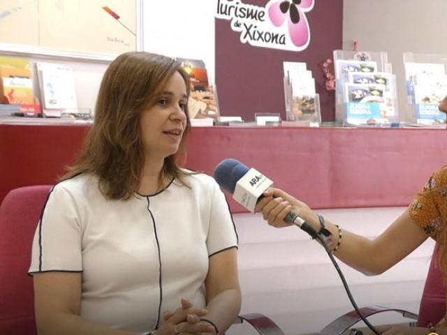 """Isabel López: """"En Xixona som molt especials i ens agrada molt la festa"""""""