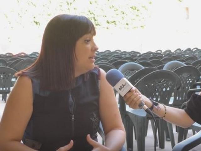 "Susanna Reig, regidora de festes de Cocentaina: ""Pense que serà una entrada espectacular"""