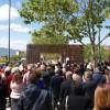Inauguració del monument a 2017 / Ajuntament Ibi