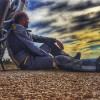 L'alcoià Luis Sainz, s'acomiada abans del seu viatge benèfic en moto de més de 10.000 km