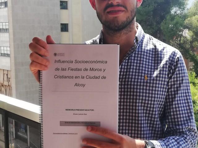 Álvaro Latorre ha analitzat al detall el moviment econòmic de la Festa alcoiana