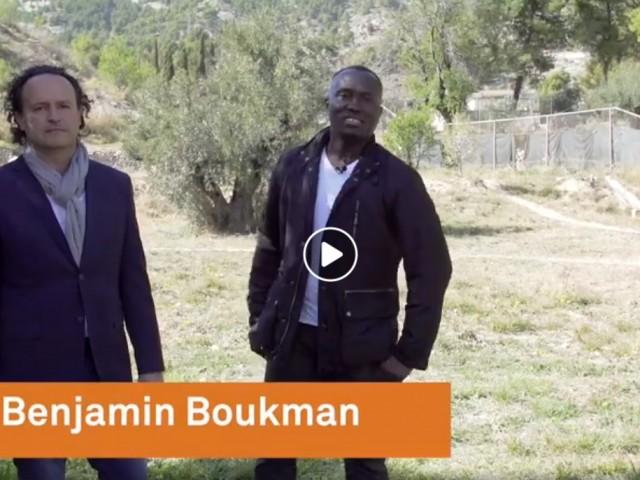 Un fotograma del vídeo de Bukman i Ivorra