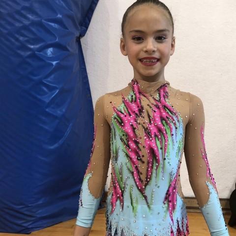 Elsa Navarro, gimnasta del CGR Alcoi