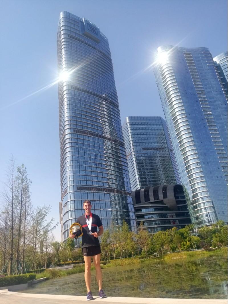 Andrés, guanyador a Xina