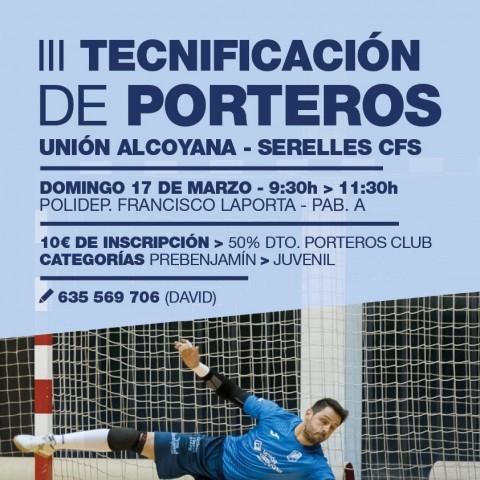 L'UniónAlcoyana-SerellesCFSorganitza la III Tecnificació de porters