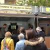 L'estand de la Mancomunitat a la Fira de Tots Sants