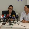 La regidora de Fira, Mariona Carbonell, amb un dels creadors de l'APP Jordi Díaz,CEOdePlay&goExperience.