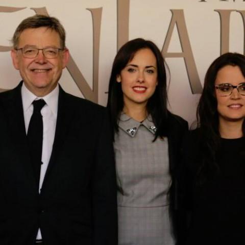 Serà la tercera vegada que Ximo Puig inaugure la Fira de Tots Sants de Cocentaina./ AM