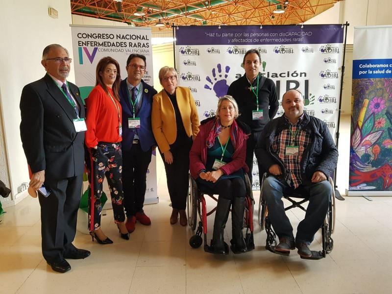 La consellera de sanitat inaugura a Ibi el Congrés Nacional de Malalties rares