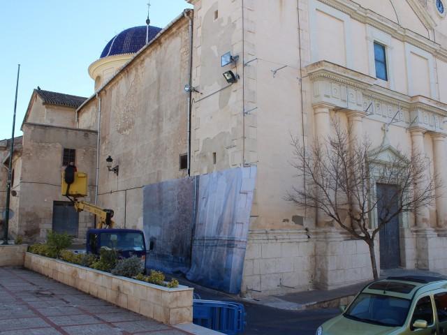 Església de la Transfiguració d'Ibi.