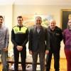 Toma de possessió del nou agent de Policia Local a l'Ajuntament d'Ibi.