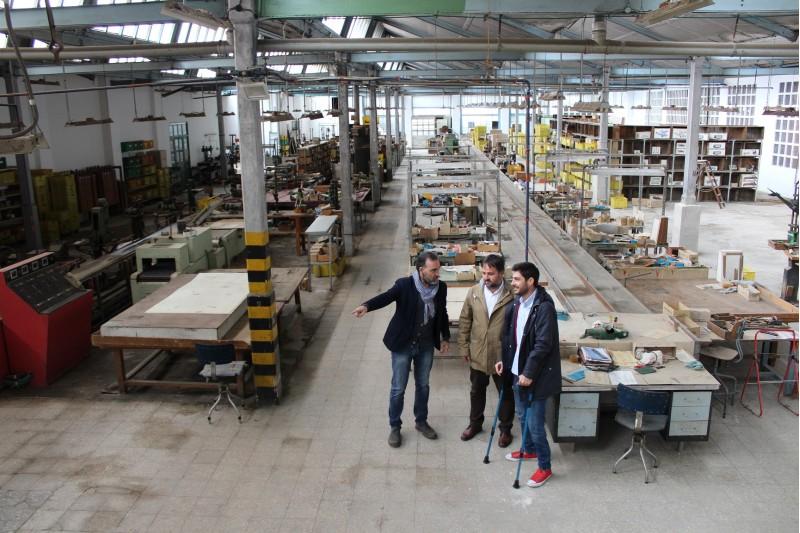 Interior de la fàbrica