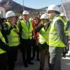 Visita del conseller i la Directora de l'IVACE, Júlia Company, a la subestació