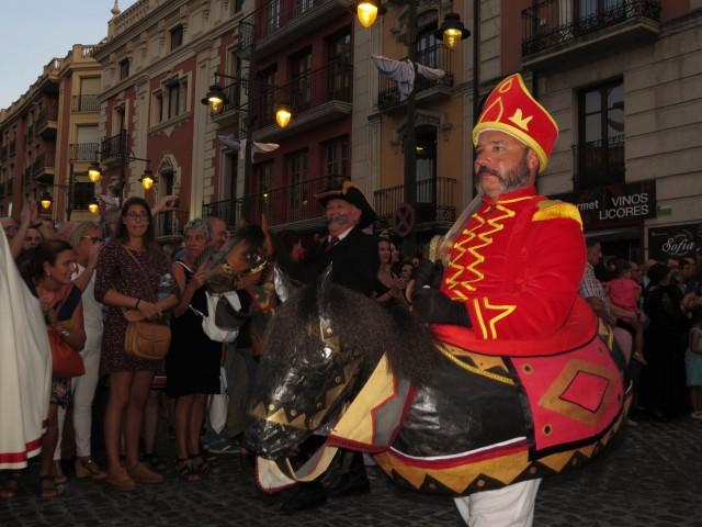 Un dels cavallets, a la desfilada de dissabte /P Sellés