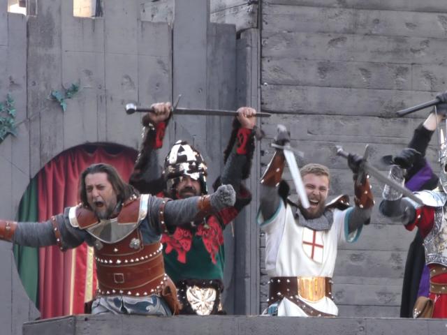 La guerra no ha acabat i els Cristians recuperen el castell