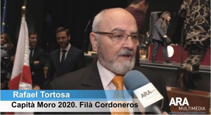 Rafael Tortosa el dia de la presentació de càrrecs /AM