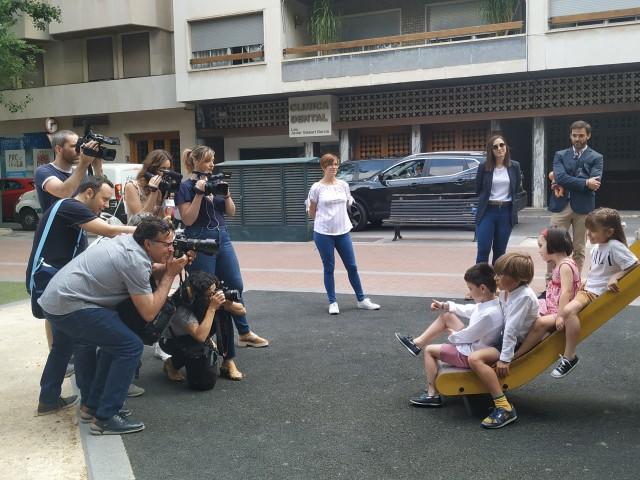 Gran expectació en la 'sessió de fotos' d'aquest divendres al Parterre