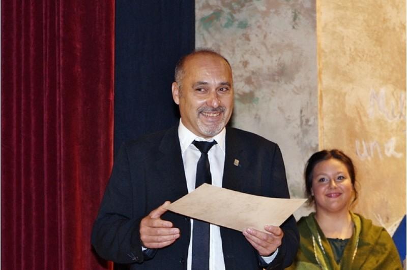 Carlos Richard rebent el premi