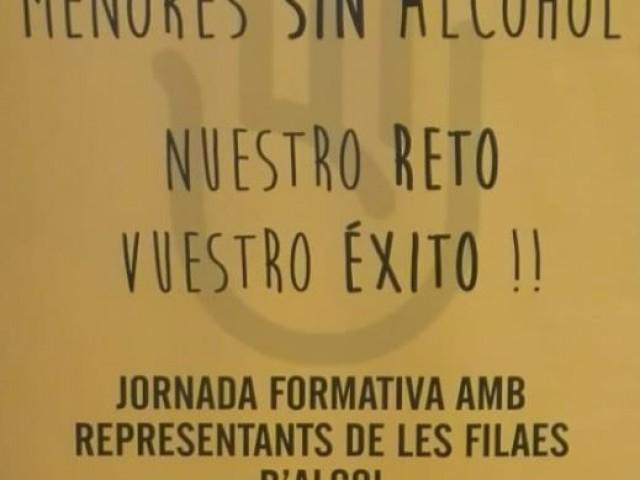 Què fer davant els menors que consumeixen alcohol a lesfilaes? Reunió informativa amb conserges i primers trons