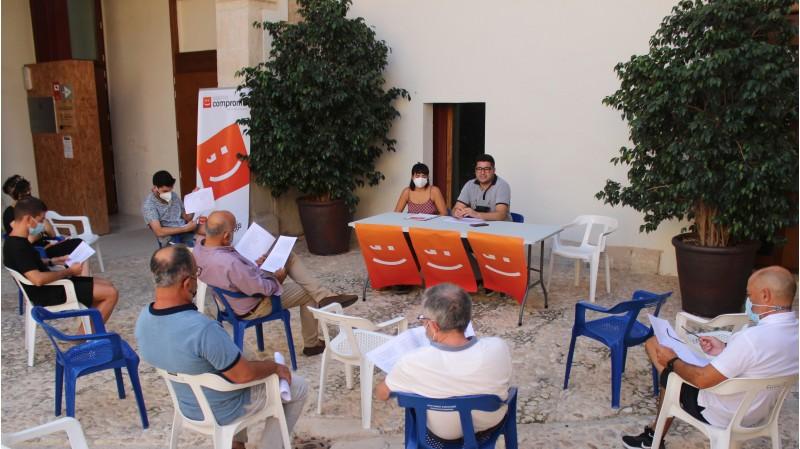 L'Assemblea realitzada el passat divendres al pati del Palau de la Vila