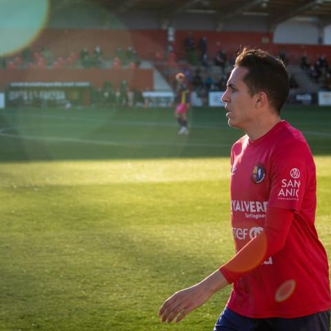 J.A. Soler jugarà la Segona DivisióRFEF amb el CD Ibiza Islas Pitusas   Foto: UE Olot