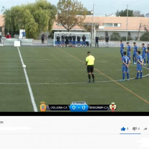 Olleria CF B vs Benigànim CF, en directe, per ARAMULTIMÈDIA