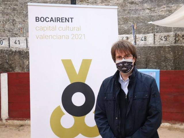 L'alcalde de Bocairent, Xavi Molina. Foto: Vicent Gandia