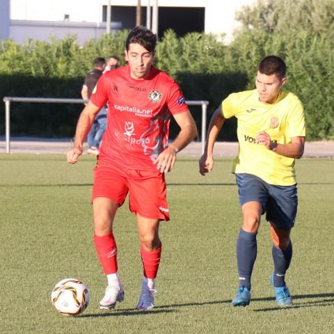 Antonio va ser l'home més destacat del Deportivo Ontinyent. Foto: Vicent Gandia