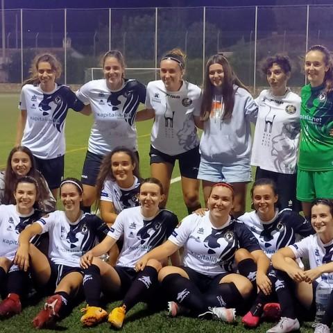 Les ontinyentines van guanyar 12-1 a la Font de la Figuera. Autor: Club Deportivo Esport Base Ontinyent