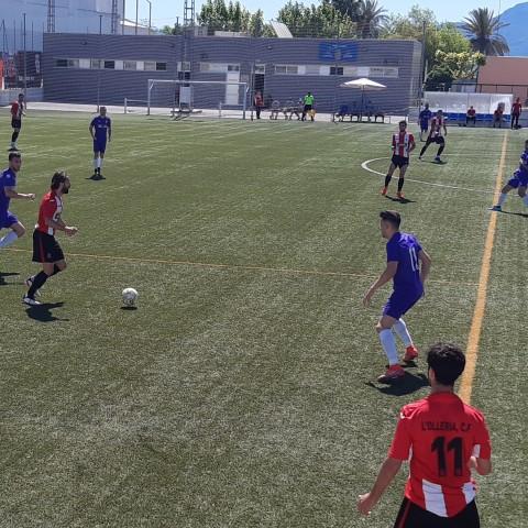 Marco Ferrer en un partit de la temporada passada