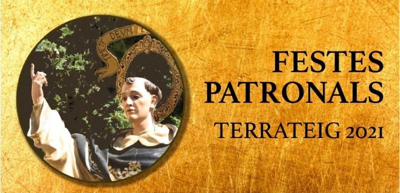 Cartell de les Festes Patronals 2021 de Terrateig. Autor: Ajuntament de Terrateig.