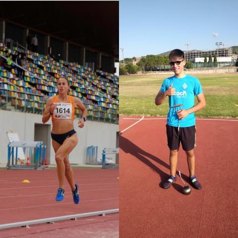 Jéssica i Enrique, medallistes del CAVAOntinyent.Stocklogistic