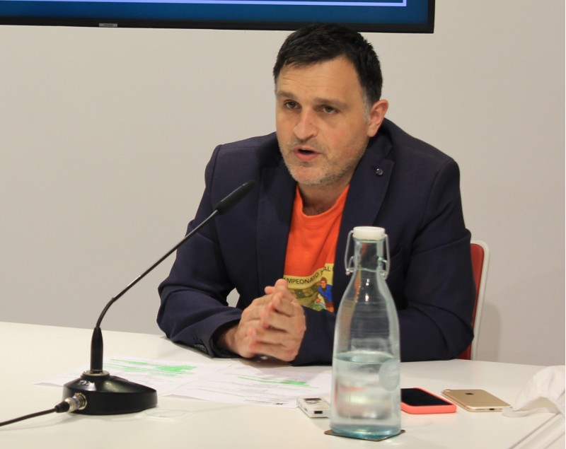 Óscar Borrell, regidor d'Educació