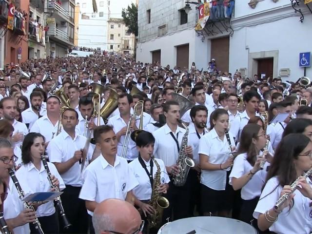 En tot el territori hi ha enregistrades 550 societats musicals.