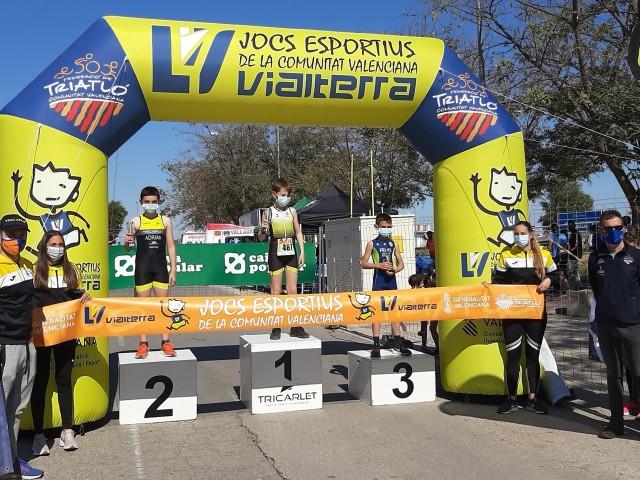 Álvaro Vicedo i Clara de Llago van aconsseguir la victòria en categoria aleví.
